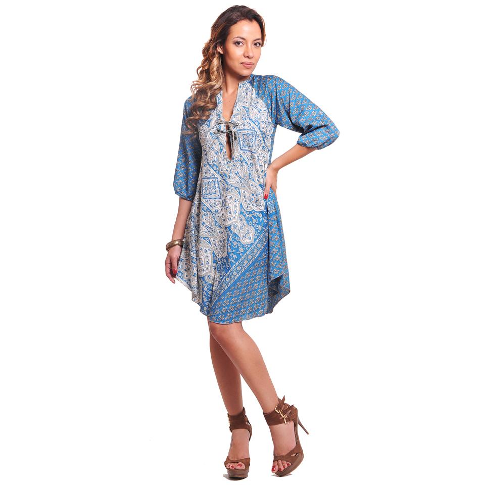 Bluson/vestido manga tres cuartos - Vidissima